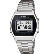 Casio La670wea7ef Stainless Steel Digital Watch Silver