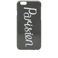 Maison Kitsune Parisien Iphone Case Grey
