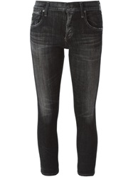Citizens Of Humanity Cropped Slim Jeans Black