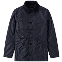 Barbour Carrbridge Wax Jacket Blue