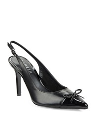 Lauren Ralph Lauren Sienna Slingback Point Toe Pumps Black