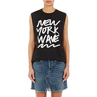 6397 New York Wave Tank Jet Black