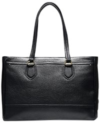 Cole Haan Tali Double Zip Work Tote Black