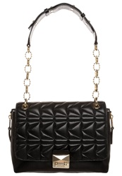 Karl Lagerfeld Handbag Black Gold