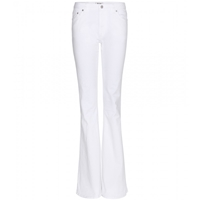 Acne Studios Mello Flared Jeans White