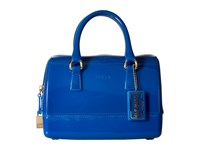 Furla Candy Cookie Small Satchel Bluette Satchel Handbags