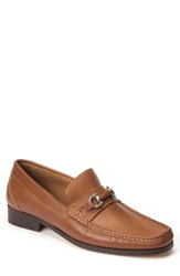 Sandro Moscoloni Men's Garda Bit Loafer Tan Leather