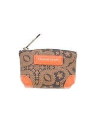 Christian Lacroix Coin Purses Brown