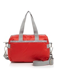 Le Sport Sac Lesportsac Small Uptown Color Block Satchel Classic Red