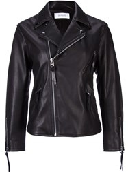 En Route Boxy Biker Jacket Black