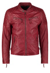 Gipsy Chester Leather Jacket Rot Red
