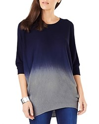 Phase Eight Becca Dip Dye Batwing Sweater Navy Gray