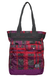 Chiemsee Sports Bag Check Barberry