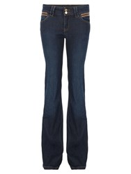 Morgan Jeans With Yokes Blue