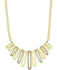 Alfani Pave Loop Statement Necklace Only At Macy's Gold