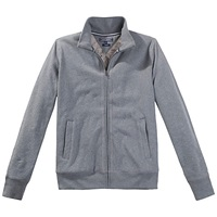 Tommy Hilfiger Shea Zip Through Fleece Silver Fog Heather