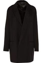 Equipment Garner Oversized Wool Blazer Black