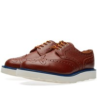 Mark Mcnairy Vibram Sole Country Brogue Brown