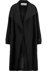 Amanda Wakeley Oversized Knitted Coat Black