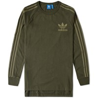 Adidas Long Sleeve Adc Fashion Tee Green