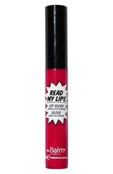 Thebalm 'Read My Lips' Lip Gloss Hubba Hubba