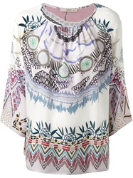 Etro Tribal Print Blouse Multicolour