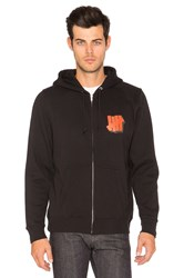 Undefeated Shadowed Strike Zip Hoody Black