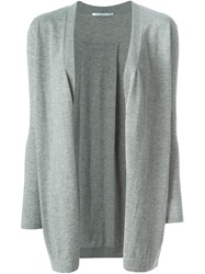 Agnona Open Front Cardigan Grey