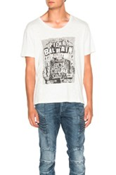 Balmain Pierre Graphic Tee In White