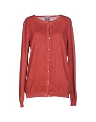 Douuod Knitwear Cardigans Women Brick Red
