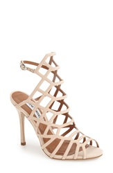 Steve Madden 'Slithur' Sandal Women Blush Nubuck Leather
