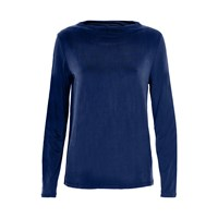Soaked In Luxury Casual Fit Top Blue