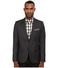 The Kooples Fitted Tailor Super 100 Blazer Grey Men's Jacket Gray