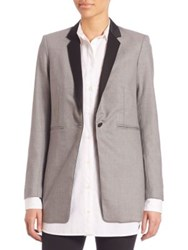 Rag And Bone Dant Tuxedo Blazer Charcoal