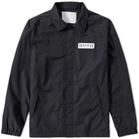 White Mountaineering Coach Jacket Black