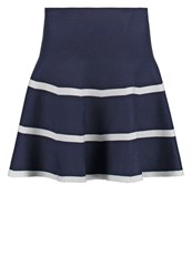 Molly Bracken Mini Skirt Navy Dark Blue