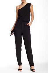 Eight Sixty One Shoulder Jumpsuit Black