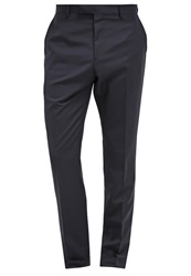 Reiss Georget Suit Trousers Navy Dark Blue