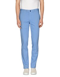 Vigano' Trousers Casual Trousers Men Sky Blue
