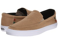 Vans Bali Sf Hemp Khaki Rasta Men's Shoes Beige