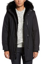 Mackage Men's 'Moritz' Anorak With Genuine Fox And Rabbit Fur Trim