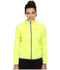 Marmot Trail Wind Hoodie Hyper Yellow Women's Jacket