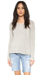 Bb Dakota Haleema Raglan Sweater Grey