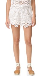 Liv Tulum Shorts White
