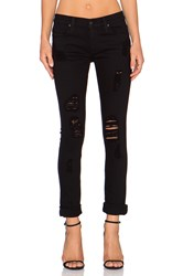 James Jeans Neo Beau Slouchy Boyfriend Destroyed Black
