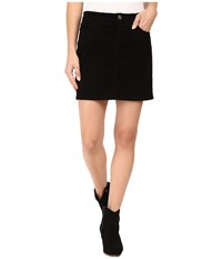J Brand Gwynne Skirt Black Women's Skirt
