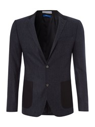 Peter Werth Men's North Single Breasted Blazer Navy