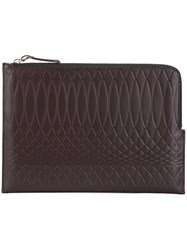 Paul Smith Document Pouch Brown