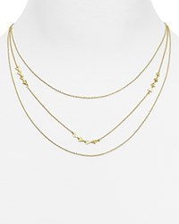 Gorjana Diy Mika Chain Layered Necklace 16 Gold