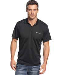 Columbia Utilizer Performance Polo Black